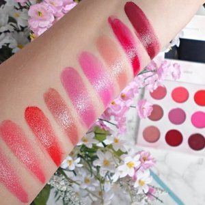 Shaaanxo 18-Color Eyeshadow & Lipstick Palette